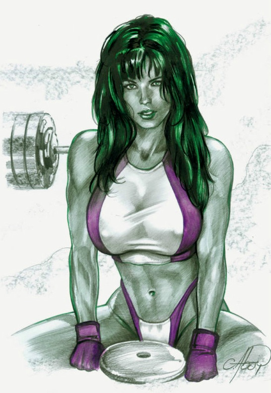 She Hulk has a weight plate.jpg