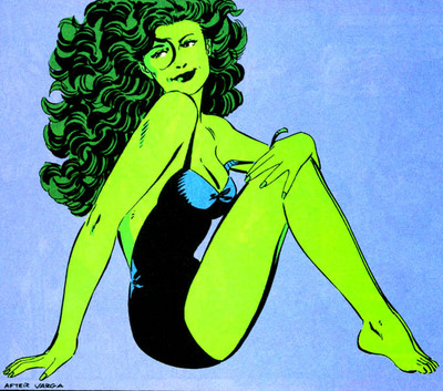 She Hulk has her chin on her shoulder.jpg