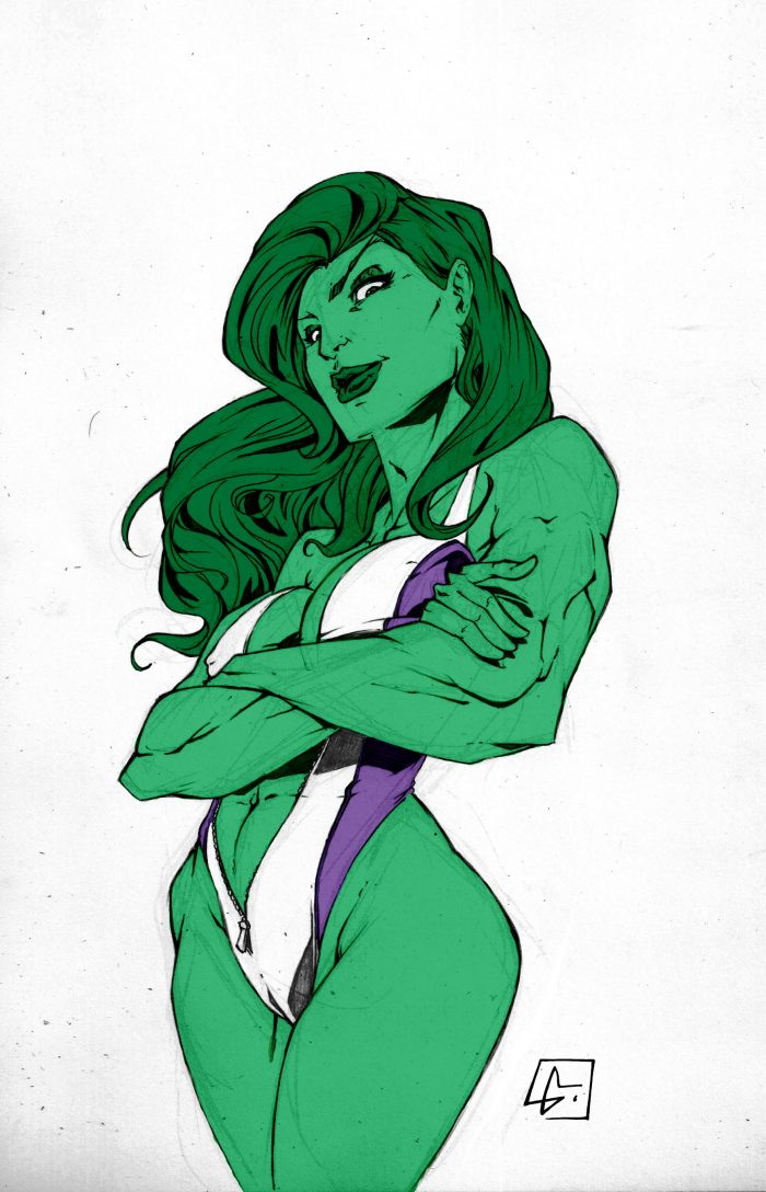 She Hulk in one piece swimsuit.jpg