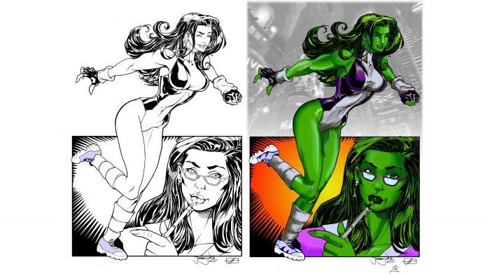 She Hulk sketch comparison.jpg