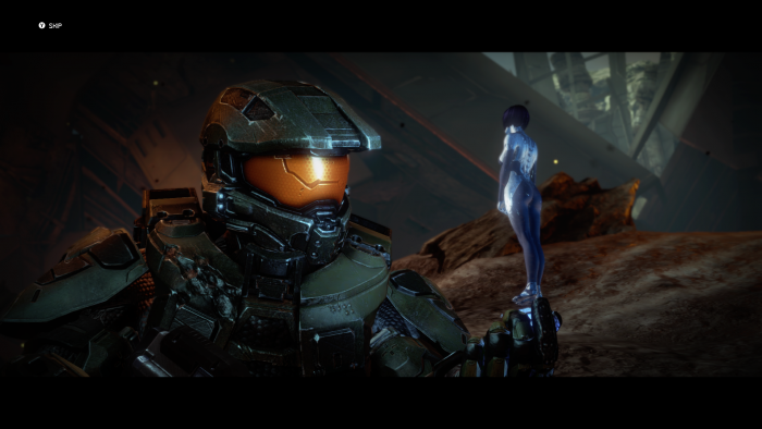 The chief is talking to Cortana.png