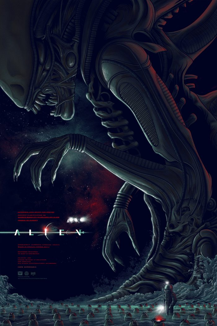 alien-variant-by-mike-saputo-edition-of-125-24x36-screen-print-printed-by-dl-screenprintin