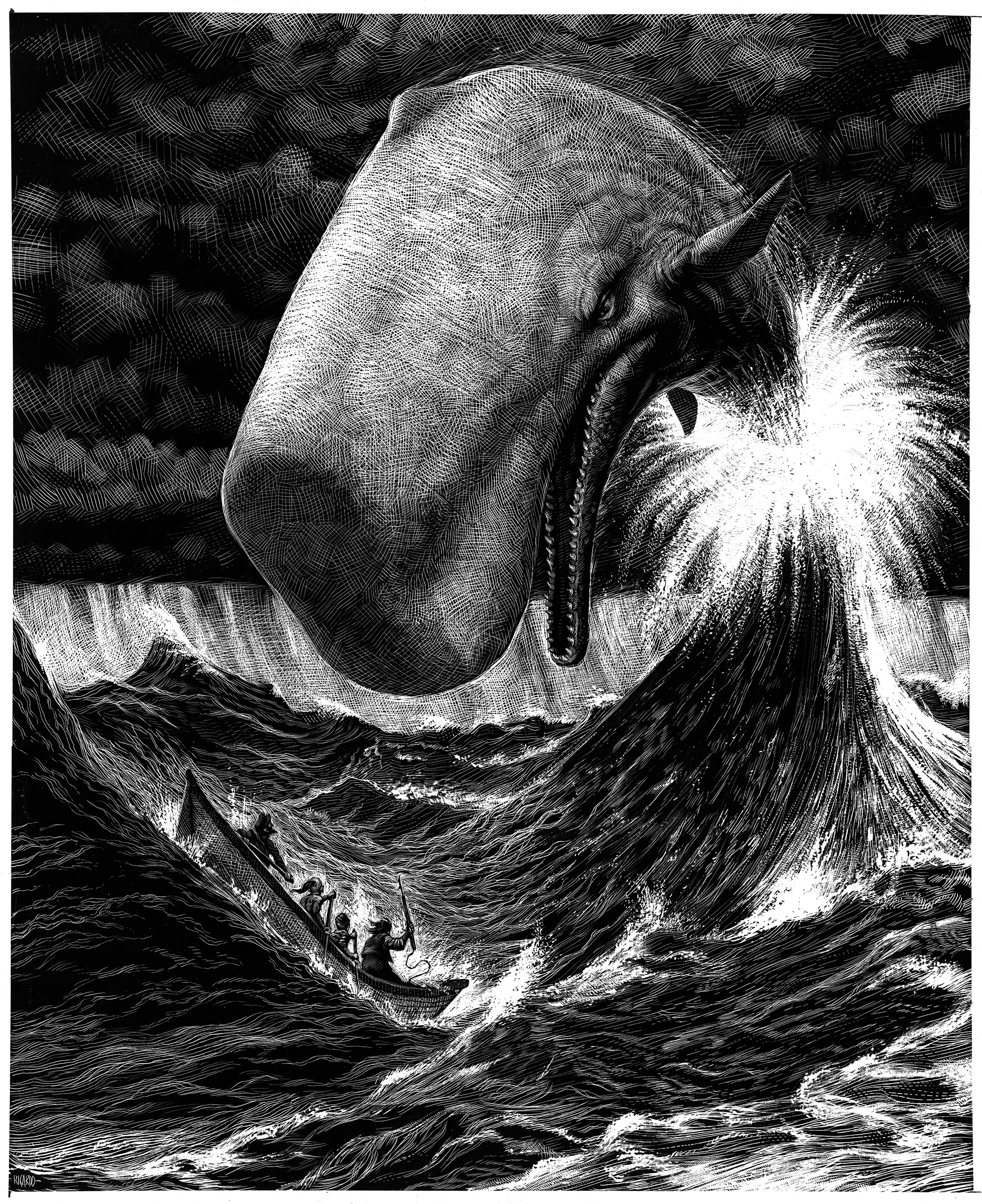 photoshoptutorials moby dick copia Moby Dick moby dick illustration Art