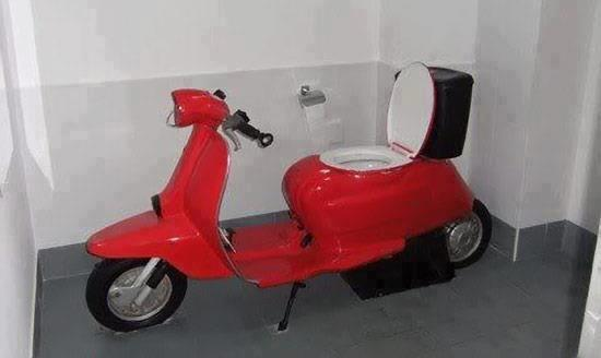 scooter 550038 510354465678104 628397918 n Scooter wtf Vespa Tuscan transportation toilet Scooter not exaclty safe for work NeSFW Motorcycle interesting Crosley BONK .awesome