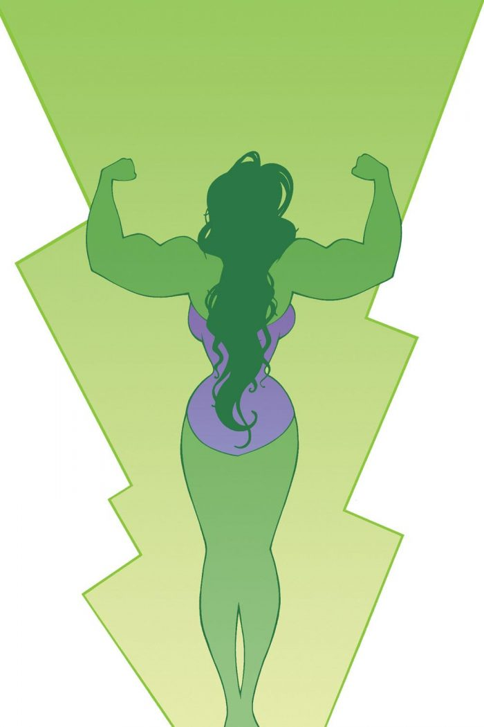 she hulk flexing from behind 700x1050 she hulk flexing from behind