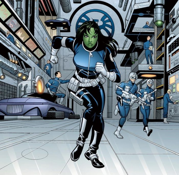 she hulk is an agent of SHIELD and is running.jpg