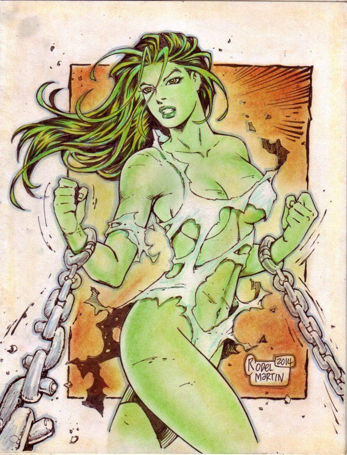 she hulk is bound 700x917 she hulk is bound she hulk Sexy NeSFW Comic Books