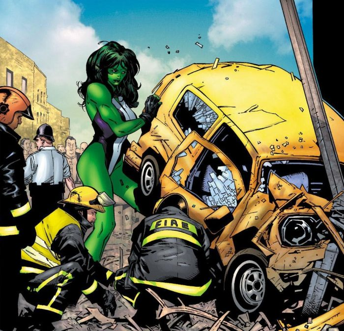 she hulk lifting a yellow car.jpg