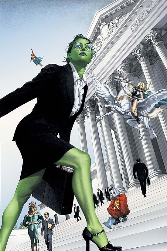she hulk v1 number 7 - on the court steps.jpg