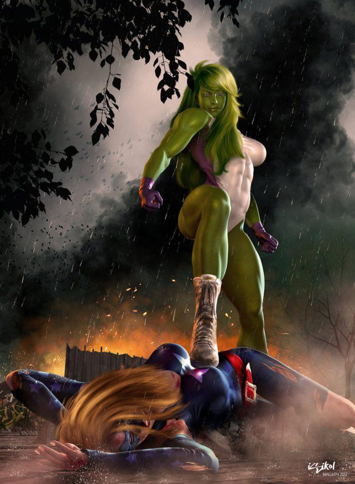 she hulk vs ms marvel 700x954 she hulk vs ms marvel