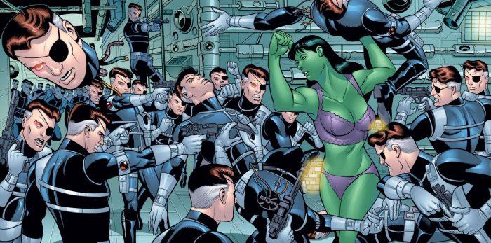 she hulk working out with Nick Fury RLDC.jpg