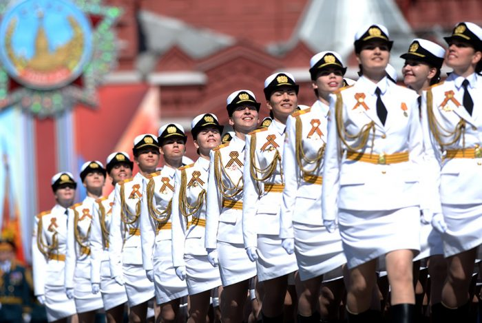 white uniformed women 700x469 white uniformed women Military