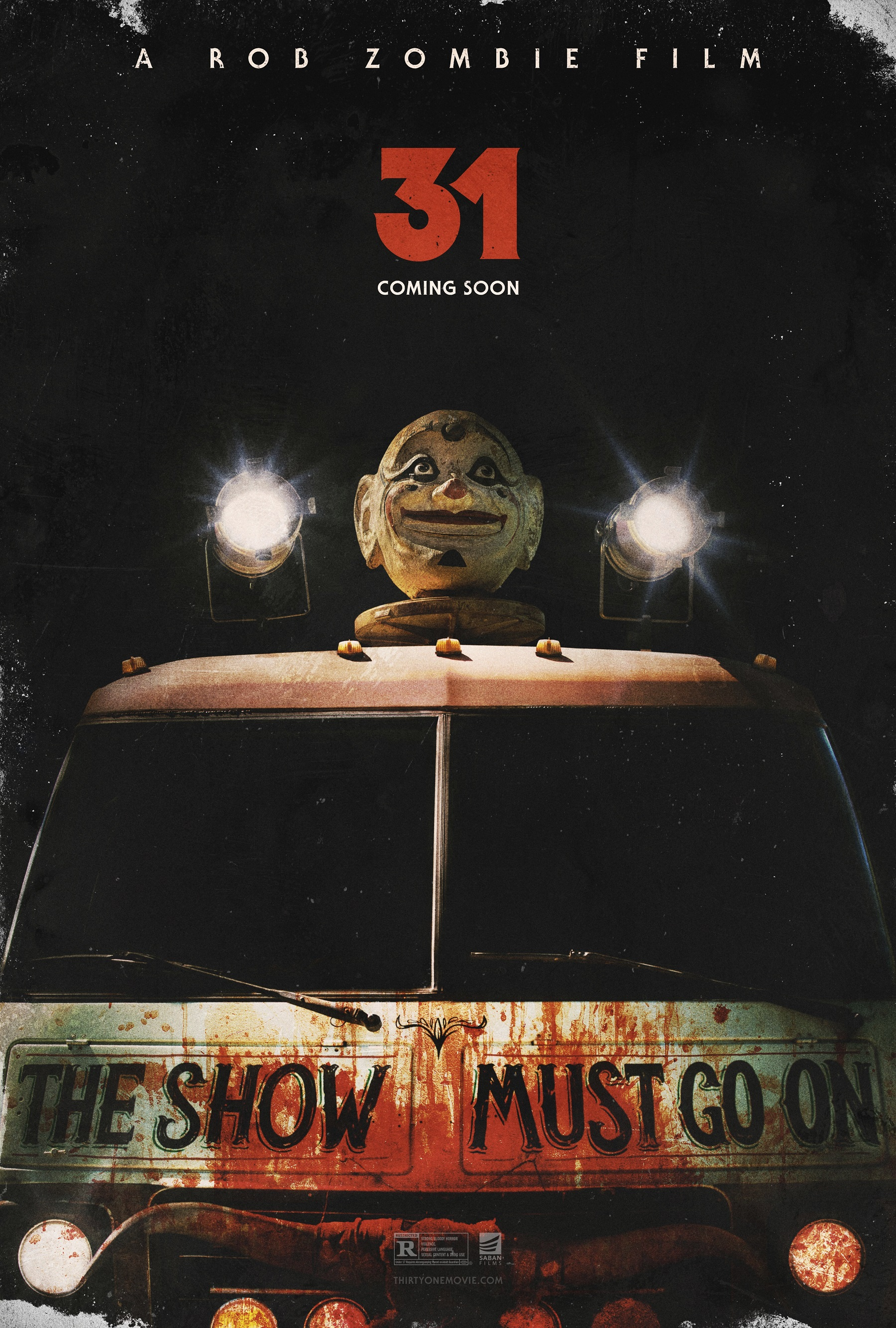 31 cposter gallery 31 trailers Rob Zombie posters Movies 31