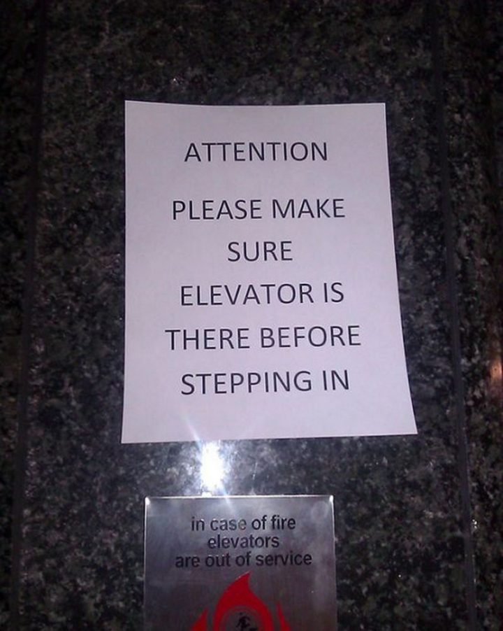 Elevator Attention Notice 720x902 Elevator Attention Notice
