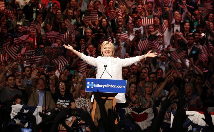 Hillary Clinton is Enthused 720x446 Hillary Clinton is Enthused Wallpaper hillary clinton election 2016