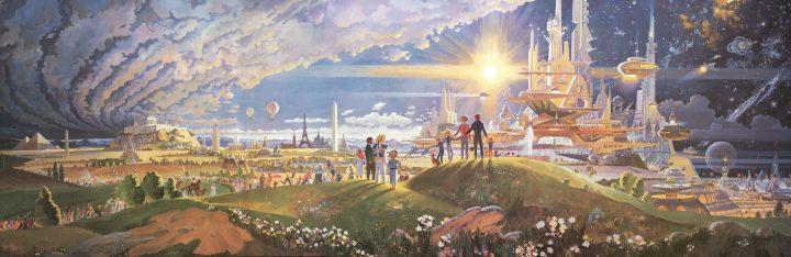 Horizons Mural by Robert McCall 720x234 Horizons Mural by Robert McCall