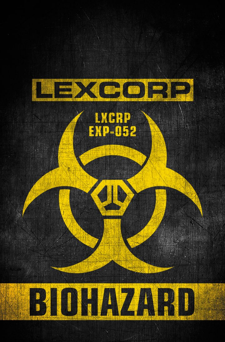 Lexcorp EXP 052 BIOHAZARD 720x1093 Lexcorp   EXP 052 BIOHAZARD vertical wallpaper Comic Books