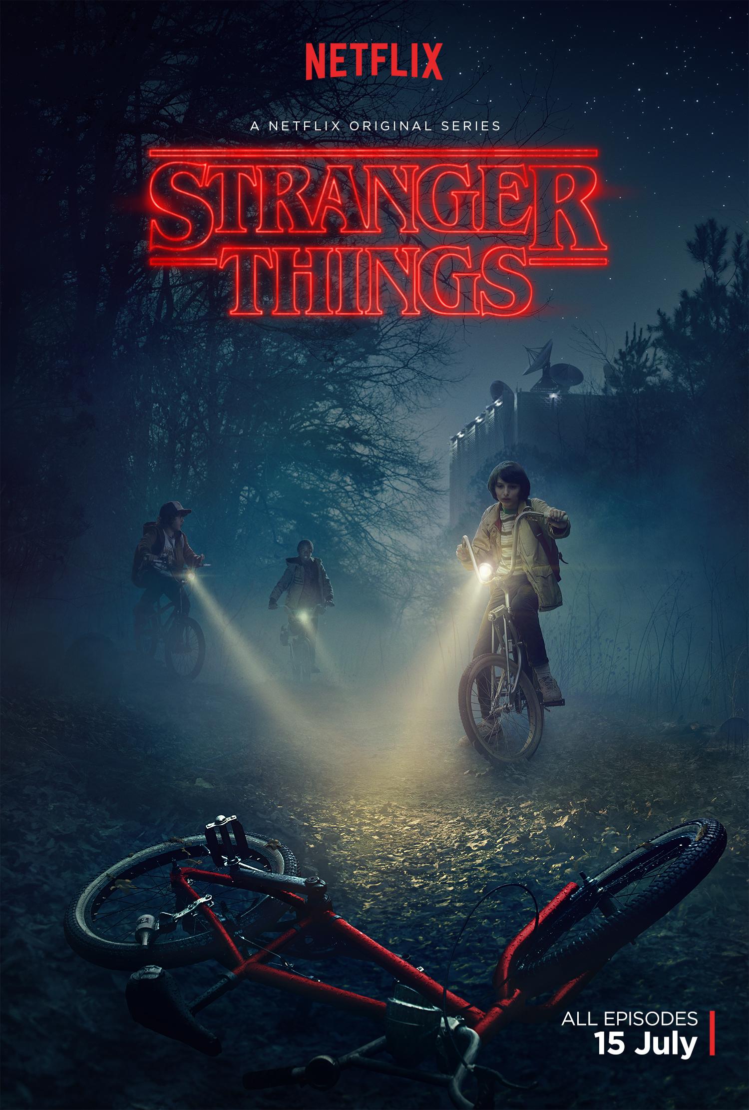 Poster STRANGER THINGS Official Trailer trailer STRANGER THINGS Official netflix