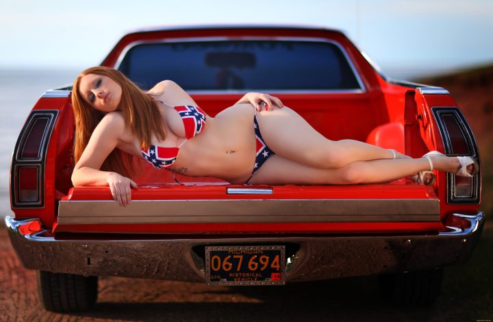 Red Neck Hottie 720x470 Red Neck Hottie Wallpaper Sexy NeSFW Cars