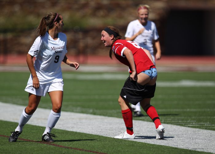 SIUE's Kristen Dailey loses her shorts.jpg