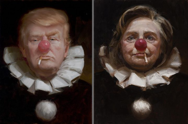 Two clowns in the same circus 720x478 Two clowns in the same circus