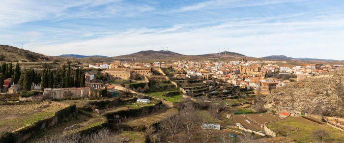 View of the old town of Ágreda 2015-01-02.JPG