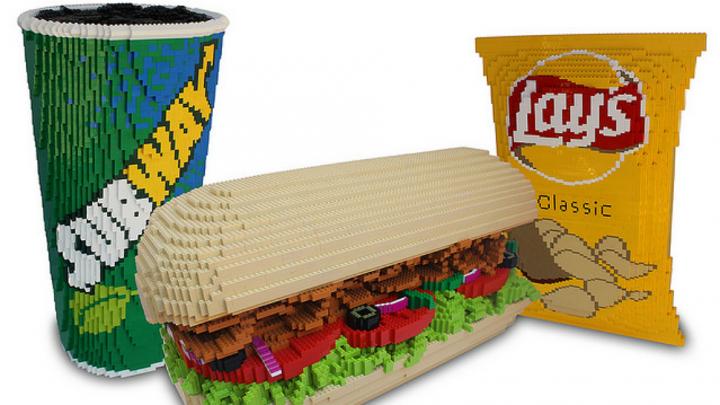 lego subway meal 720x405 lego subway meal subway lego Food