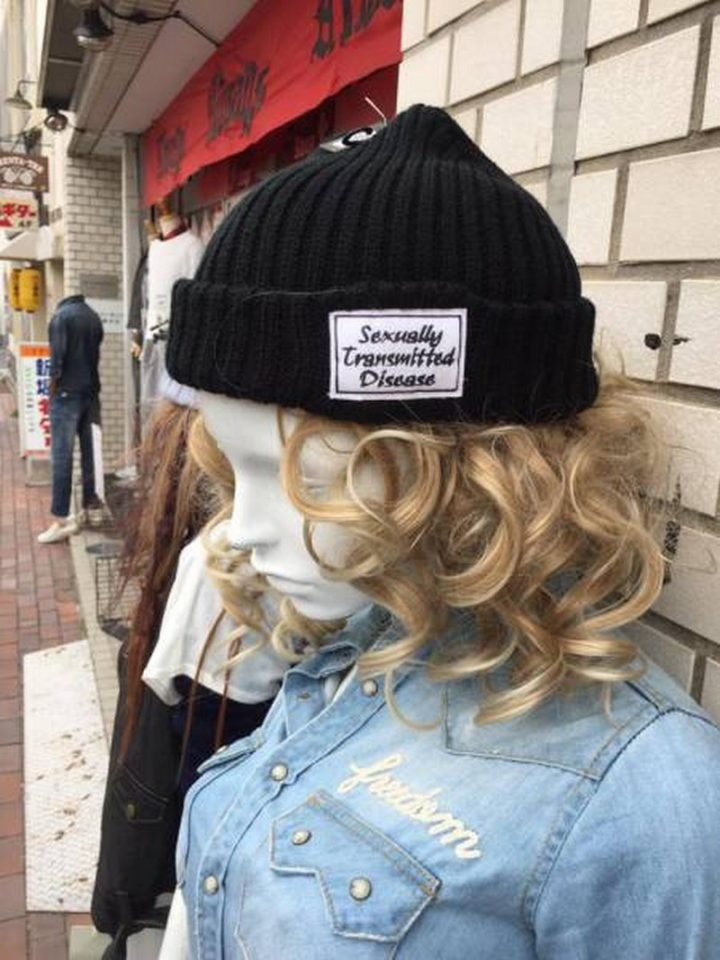 sexually transmitted disease cap 720x960 sexually transmitted disease cap wtf fashion