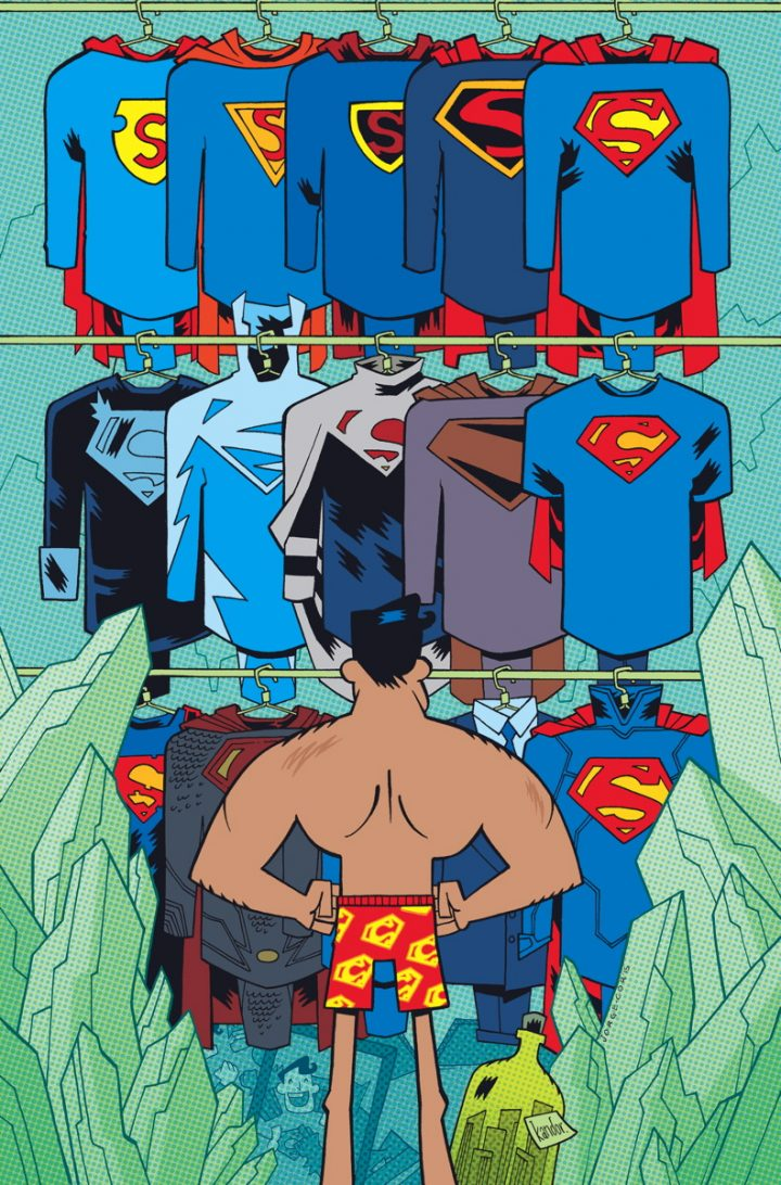 superman figuring out his clothing options 720x1092 superman figuring out his clothing options vertical wallpaper superman Comic Books