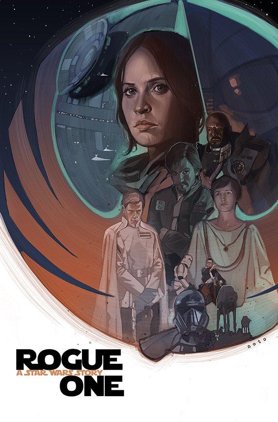 tumblr o5h0etKwSD1s2wio8o1 1280 Rogue One: A Star Wars Story Rogue One: A Star Wars Story posters illustration fan art