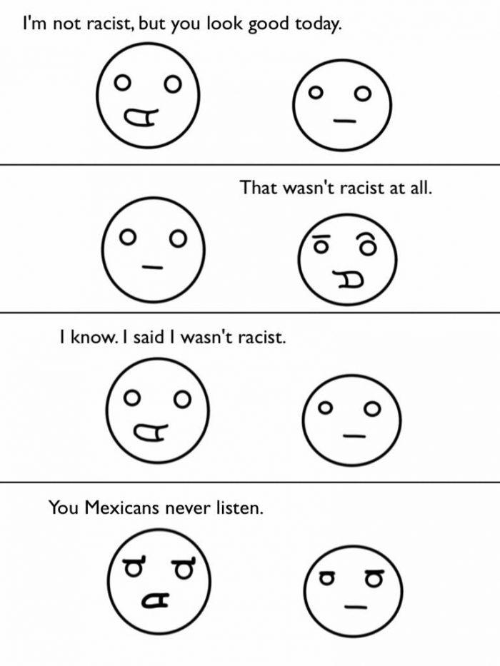wasnt racist 700x933 wasnt racist Racist Humor