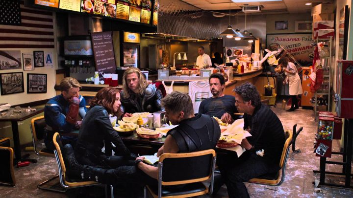 Avengers eating food.jpg