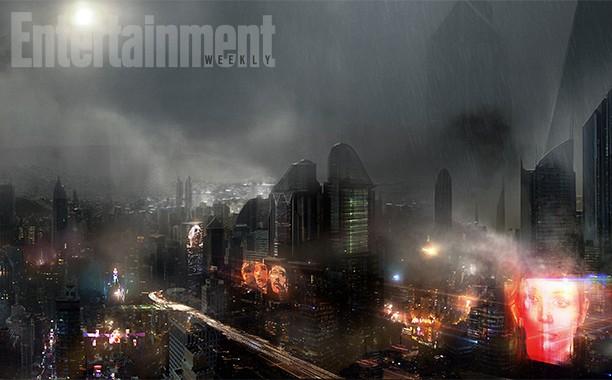 Blade Runner 2 City EW Concept Art CONCEPT ART FOR BLADE RUNNER 2 CONCEPT ART. BLADE RUNNER 2. art. illustration