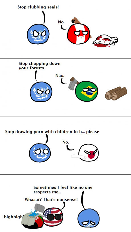 Poor UN Poor UN UN polandball fiction delusion