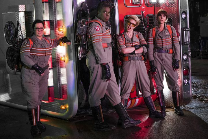 The New Ghostbusters 720x481 The New Ghostbusters Wallpaper Movies ghostbusters