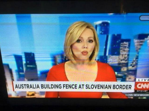 australia builds fence in slovenia2.jpg Geografy iz hart News Fail cnn