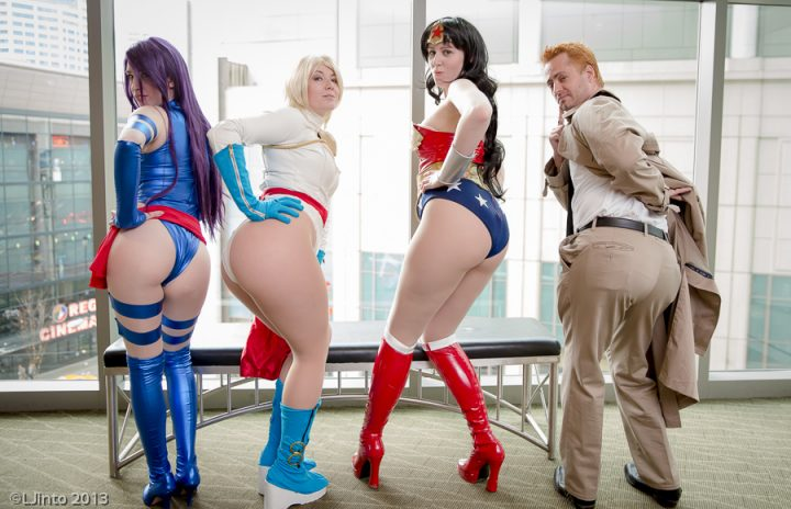cosplay butt action 720x464 cosplay butt action wonder woman Sexy Psylocke Humor cosplay Constantine Comic Books