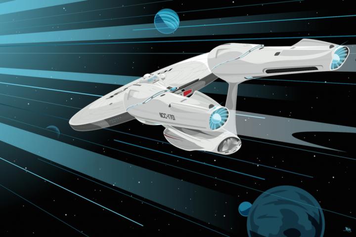 e724xcnodi53u6fuosgz 720x480 Star Trek Art star trek illustration Art 50th Anniverary