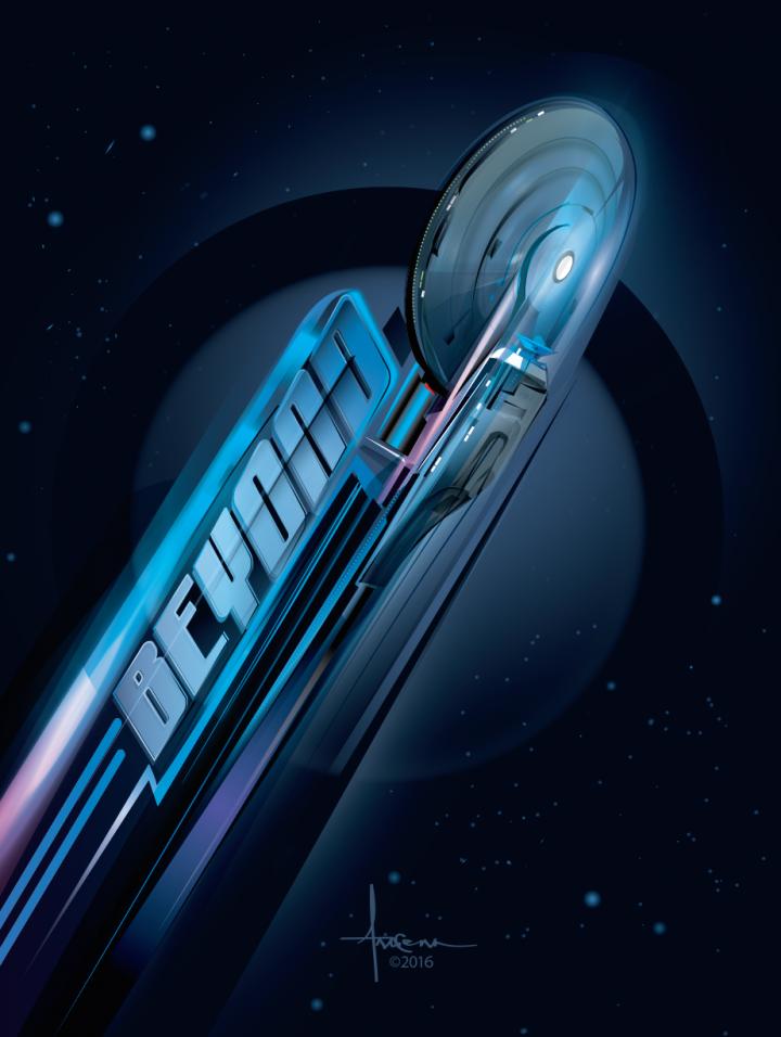 elctfuozjevf5kbgisix 720x956 Star Trek Art star trek illustration Art 50th Anniverary