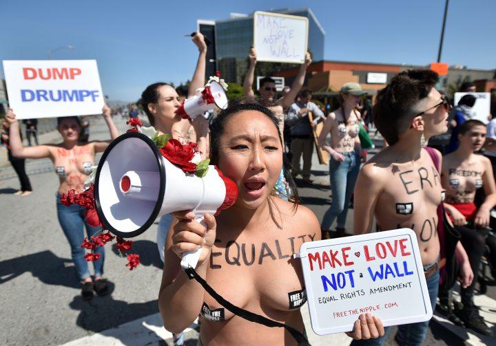 free the nipple protestors 720x503 free the nipple protestors Wallpaper Sexy Politics NeSFW