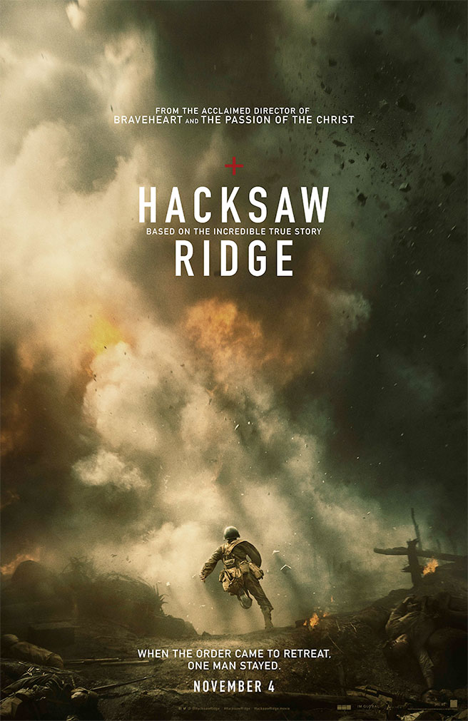 hacksaw ridge poster HACKSAW RIDGE Official Trailer poster Official Trailer Movies HACKSAW RIDGE