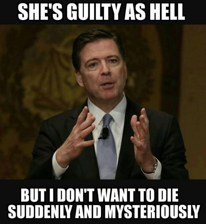 shes guilty as hell 720x781 shes guilty as hell hillary clinton election 2016