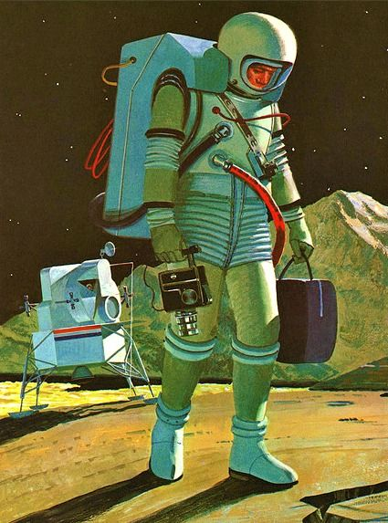 tumblr o521empYr01t93hz6o1 500 Science Fiction Art vintage science fiction illustration Art