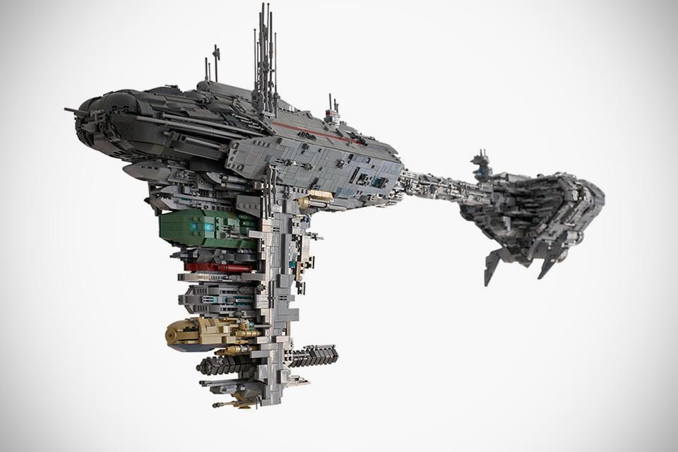 tumblr o8hfa2VkSh1reapbzo2 1280 Star Wars Legos star wars Nebulon B Medical Frigate Legos