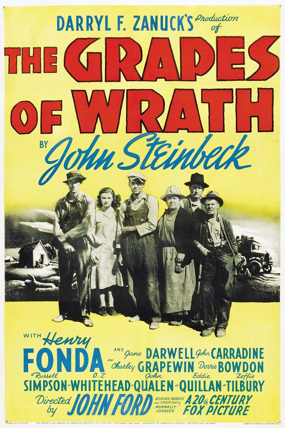 tumblr oa3hzbFYGT1qzdglao1 1280 The Grapes of Wrath vintage The Grapes of Wrath movie poster