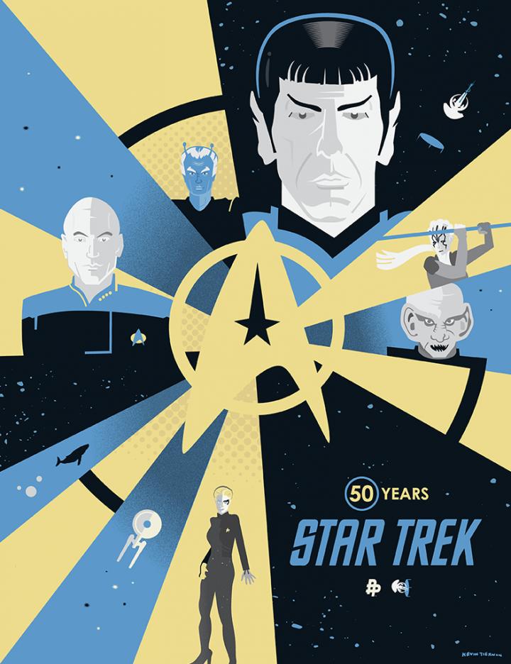 za9tsewhm6kkctxn3txh 720x936 Star Trek Art star trek illustration Art 50th Anniverary