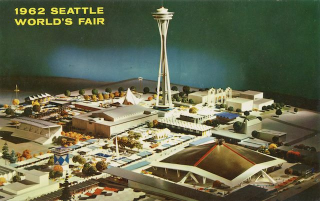 13344815 1086345878111377 3560759230466390932 n Worlds Fair wtf vintage Space Needle seattle Key Arena interesting awesome 1962 Worlds Fair