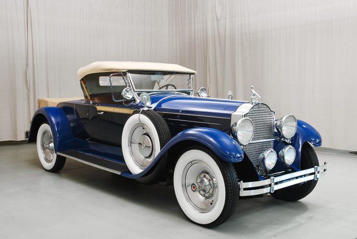 1929 packard 640 roadster b