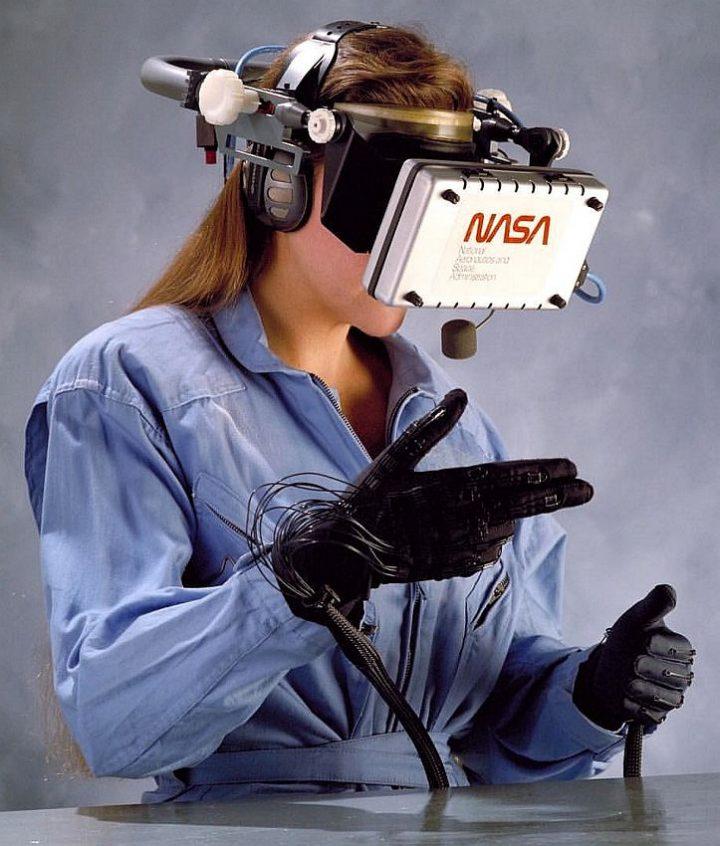 1989 Nasa Virtual Reality Computer 720x846 1989 Nasa Virtual Reality Computer Technology NASA