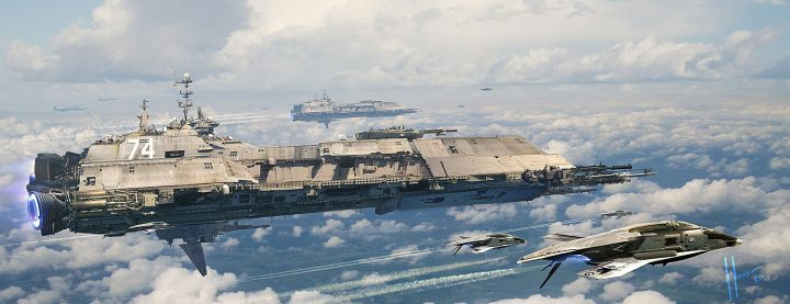 Explorer Navy Ship by Jaime Jasso 720x277 Explorer Navy Ship by Jaime Jasso